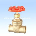Brass Gate Valve Solder End