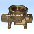 Gunmetal Water Meter Body