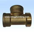 Brass 3 Way Fitting